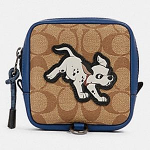 Coach x Disney Men's Pouch Wallet